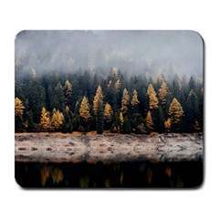 Trees Plants Nature Forests Lake Large Mousepads