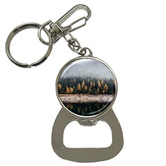 Trees Plants Nature Forests Lake Button Necklaces