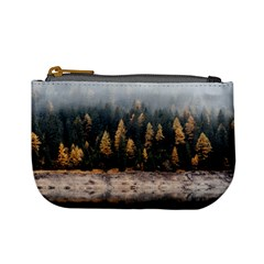 Trees Plants Nature Forests Lake Mini Coin Purses