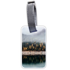 Trees Plants Nature Forests Lake Luggage Tags (one Side)