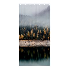 Trees Plants Nature Forests Lake Shower Curtain 36  X 72  (stall)