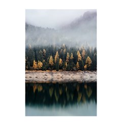 Trees Plants Nature Forests Lake Shower Curtain 48  X 72  (small)