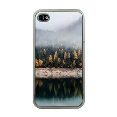Trees Plants Nature Forests Lake Apple Iphone 4 Case (clear)