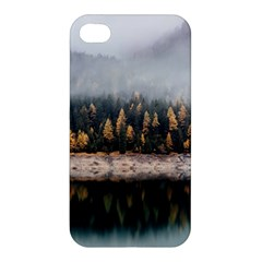 Trees Plants Nature Forests Lake Apple Iphone 4/4s Hardshell Case