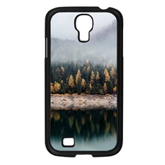 Trees Plants Nature Forests Lake Samsung Galaxy S4 I9500/ I9505 Case (black)