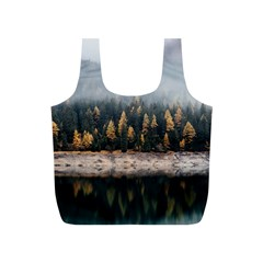 Trees Plants Nature Forests Lake Full Print Recycle Bags (s)
