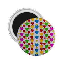 So Sweet And Hearty As Love Can Be 2 25  Magnets