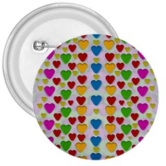 So Sweet And Hearty As Love Can Be 3  Buttons