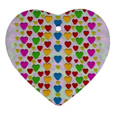 So Sweet And Hearty As Love Can Be Ornament (heart)
