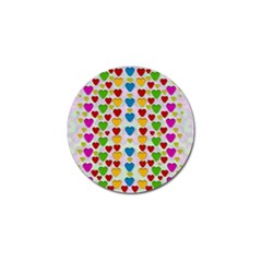So Sweet And Hearty As Love Can Be Golf Ball Marker (10 Pack)