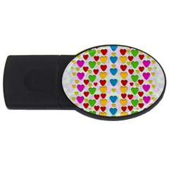 So Sweet And Hearty As Love Can Be Usb Flash Drive Oval (4 Gb)