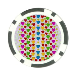 So Sweet And Hearty As Love Can Be Poker Chip Card Guard (10 Pack)