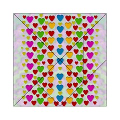 So Sweet And Hearty As Love Can Be Acrylic Tangram Puzzle (6  X 6 )