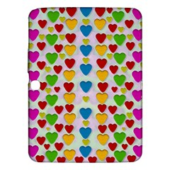 So Sweet And Hearty As Love Can Be Samsung Galaxy Tab 3 (10 1 ) P5200 Hardshell Case