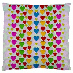 So Sweet And Hearty As Love Can Be Standard Flano Cushion Case (two Sides)