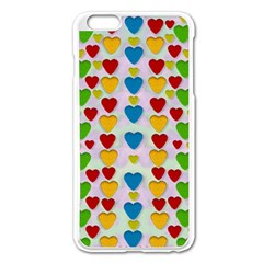 So Sweet And Hearty As Love Can Be Apple Iphone 6 Plus/6s Plus Enamel White Case