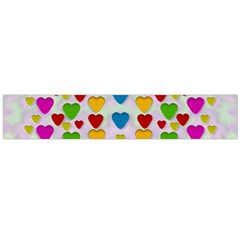 So Sweet And Hearty As Love Can Be Large Flano Scarf