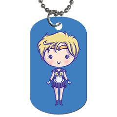 Cutie Uranus/neptune Dog Tag (two Sided)