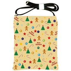 Christmas Pattern Shoulder Sling Bags