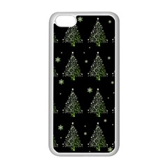 Christmas Tree   Pattern Apple Iphone 5c Seamless Case (white)