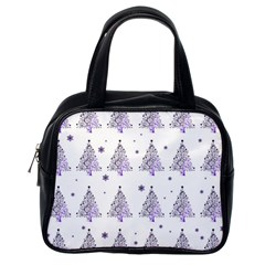 Christmas Tree   Pattern Classic Handbags (one Side)
