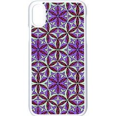 Flower Of Life Hand Drawing Pattern Apple Iphone X Seamless Case (white)