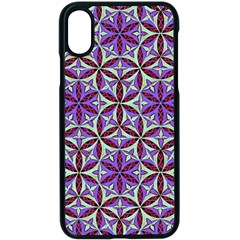 Flower Of Life Hand Drawing Pattern Apple Iphone X Seamless Case (black)