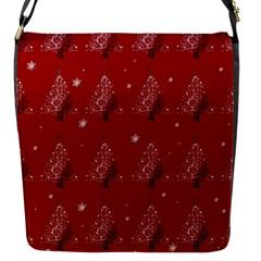 Christmas Tree   Pattern Flap Messenger Bag (s)