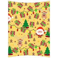 Santa And Rudolph Pattern Back Support Cushion