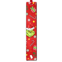 Grinch Pattern Large Book Marks