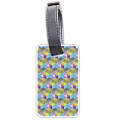 Hexagon Cube Bee Cell 1 Pattern Luggage Tags (one Side)