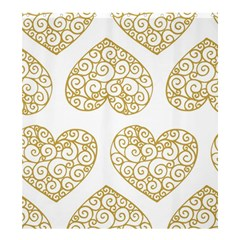 All Cards 36 Shower Curtain 66  X 72  (large)
