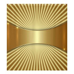 Gold8 Shower Curtain 66  X 72  (large)