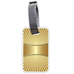 Gold8 Luggage Tags (one Side)