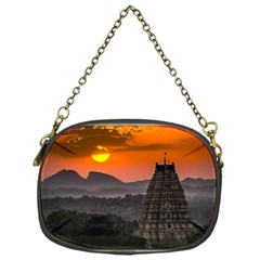 Beautiful Village Of Hampi Chain Purses (one Side)