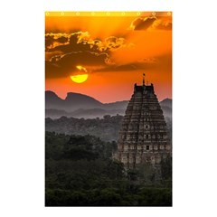 Beautiful Village Of Hampi Shower Curtain 48  X 72  (small)