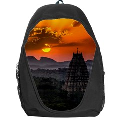 Beautiful Village Of Hampi Backpack Bag