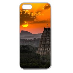 Beautiful Village Of Hampi Apple Seamless Iphone 5 Case (clear)