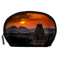 Beautiful Village Of Hampi Accessory Pouches (large)