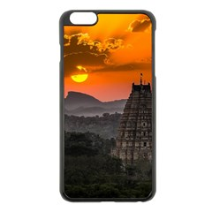 Beautiful Village Of Hampi Apple Iphone 6 Plus/6s Plus Black Enamel Case