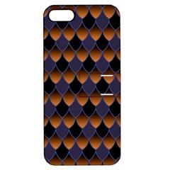 3squama Fhish Dark Apple Iphone 5 Hardshell Case With Stand