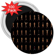 85 Oscars 3  Magnets (100 Pack)