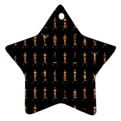 85 Oscars Star Ornament (two Sides)