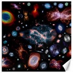 Galaxy Nebula Canvas 12  X 12