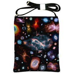 Galaxy Nebula Shoulder Sling Bags