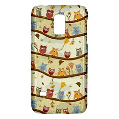 Autumn Owls Pattern Galaxy S5 Mini
