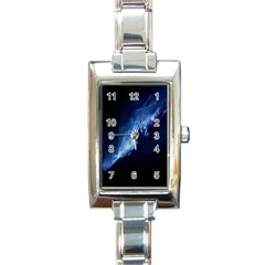 Nebula Rectangle Italian Charm Watch
