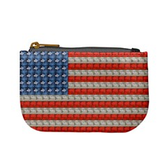 Geometricus Usa Flag Mini Coin Purses