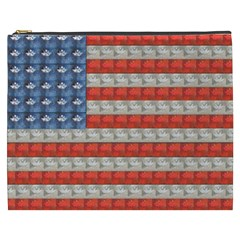 Geometricus Usa Flag Cosmetic Bag (xxxl)