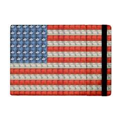 Geometricus Usa Flag Apple Ipad Mini Flip Case